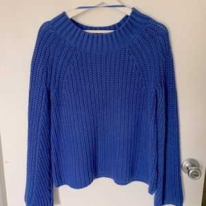 CUPIO bell sleeve knitted pullover